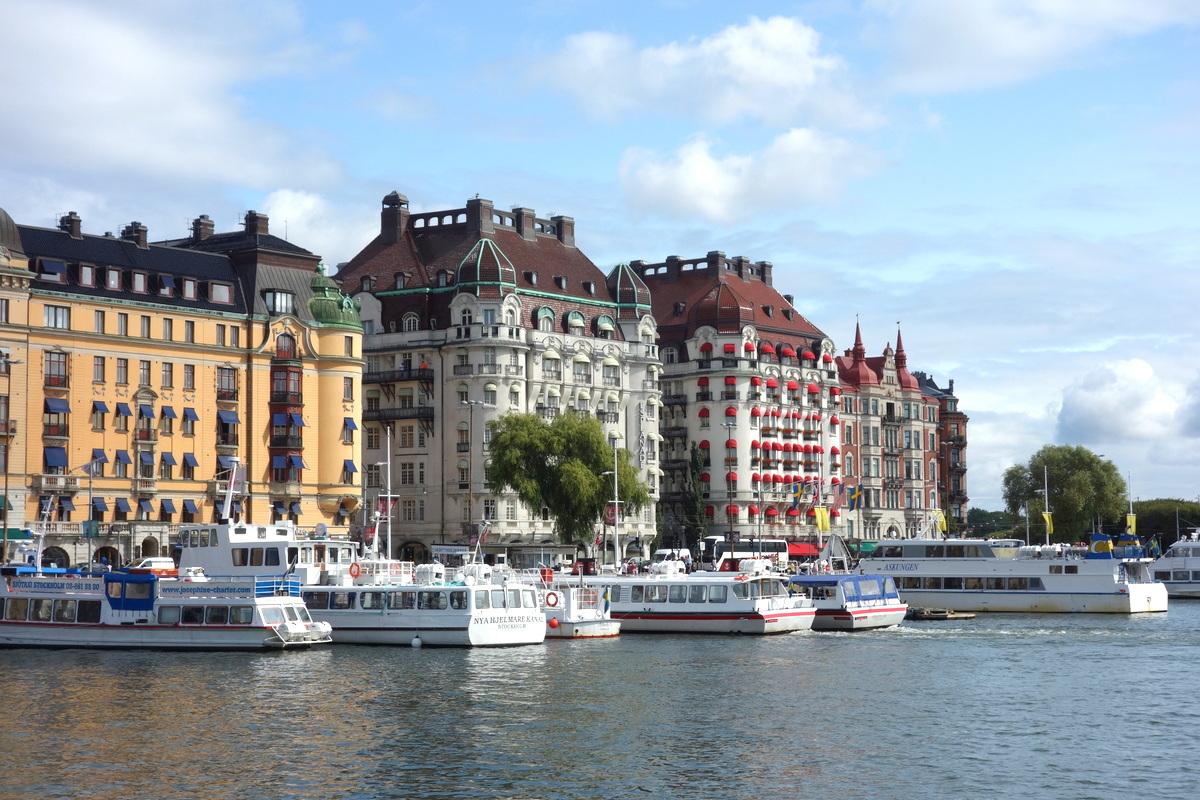 Bateaux à Stockholm
