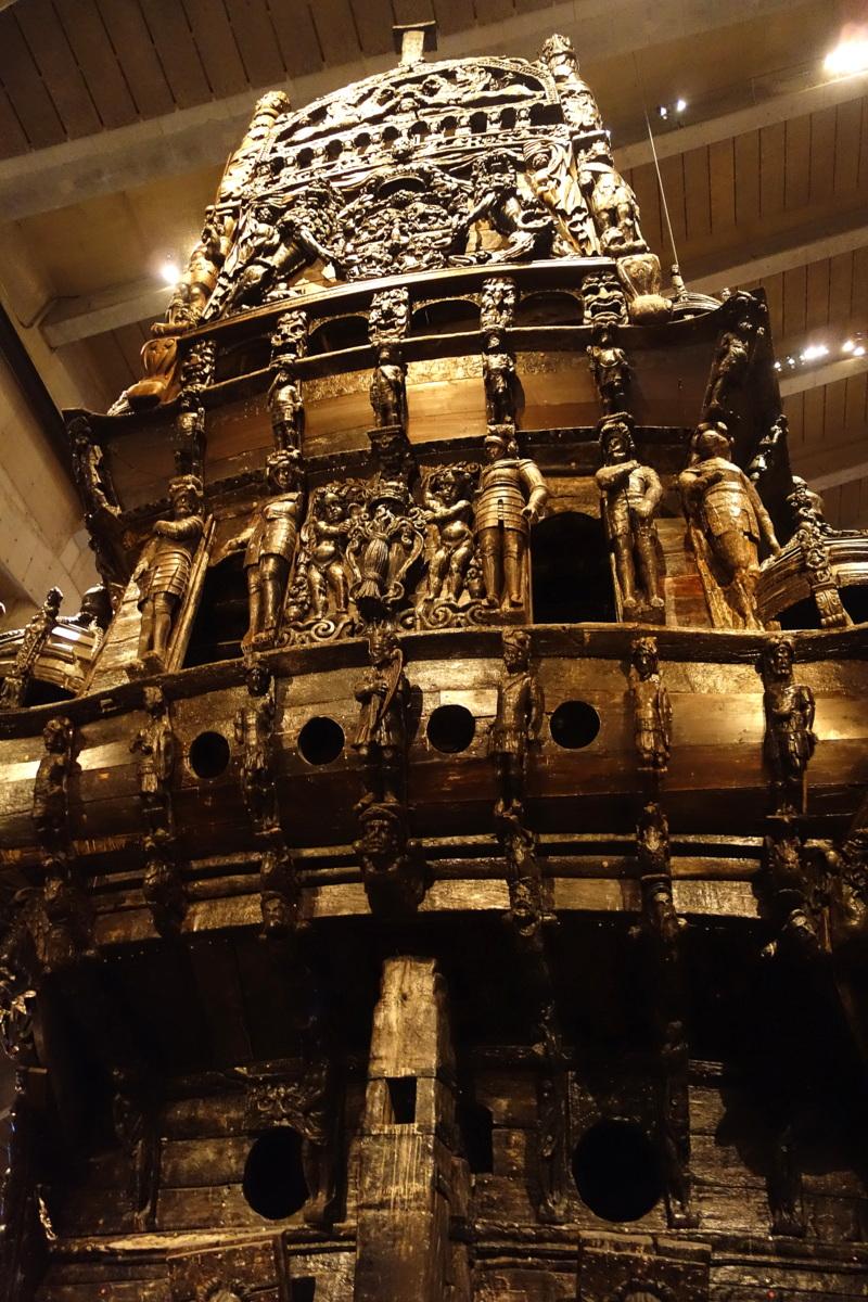 Stockholm - Djurgården - Musée Vasa