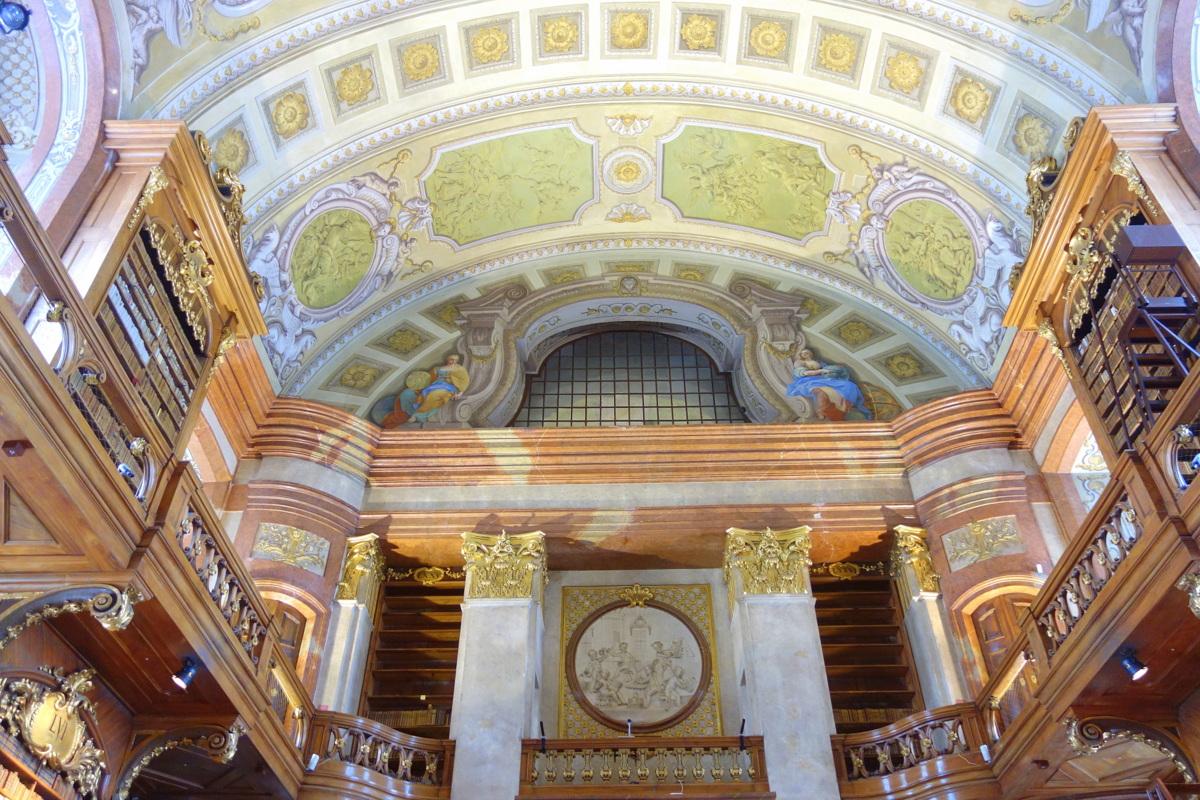 Hofburg - Palais impérial de Vienne - Bibliothèque nationale d'Autriche