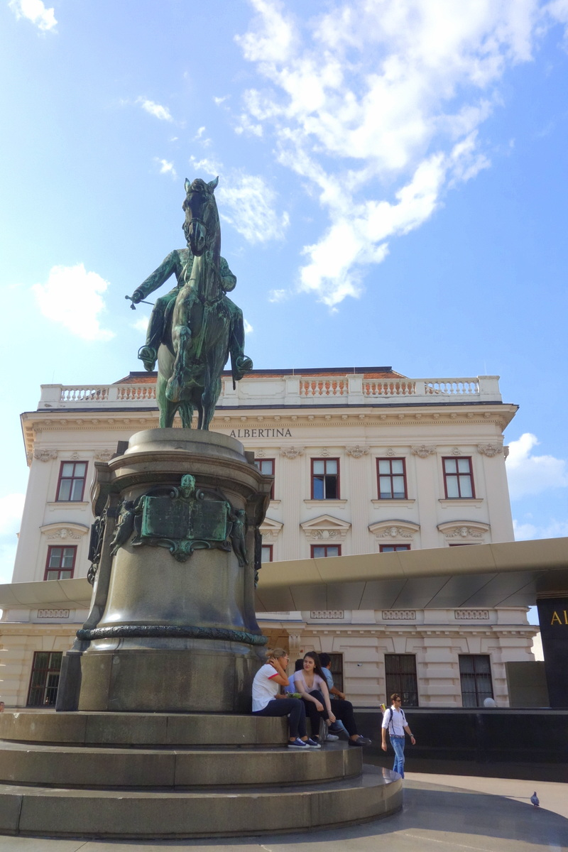 Hofburg - Palais impérial de Vienne - musée Albertina