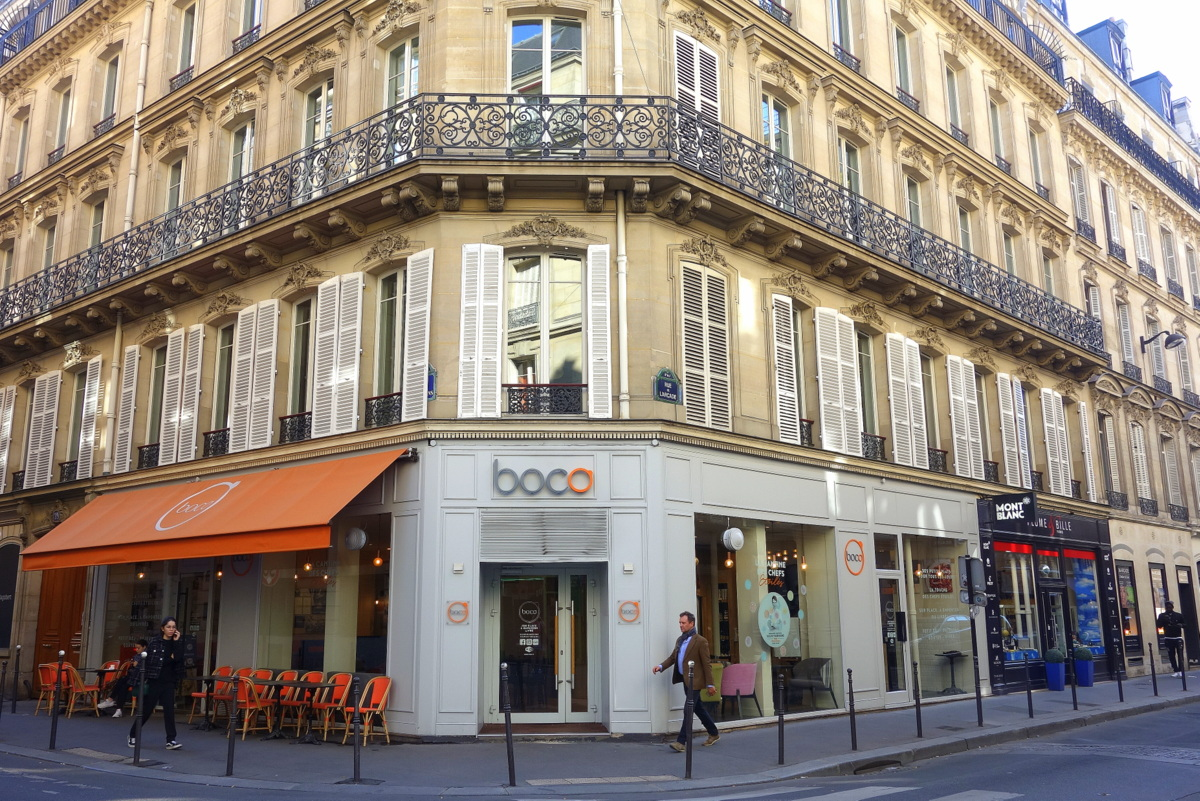 Boco Mathurins, Paris - Carte automne 2018