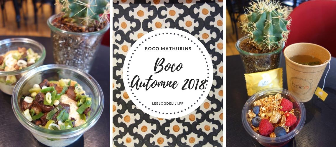 Boco automne 2018