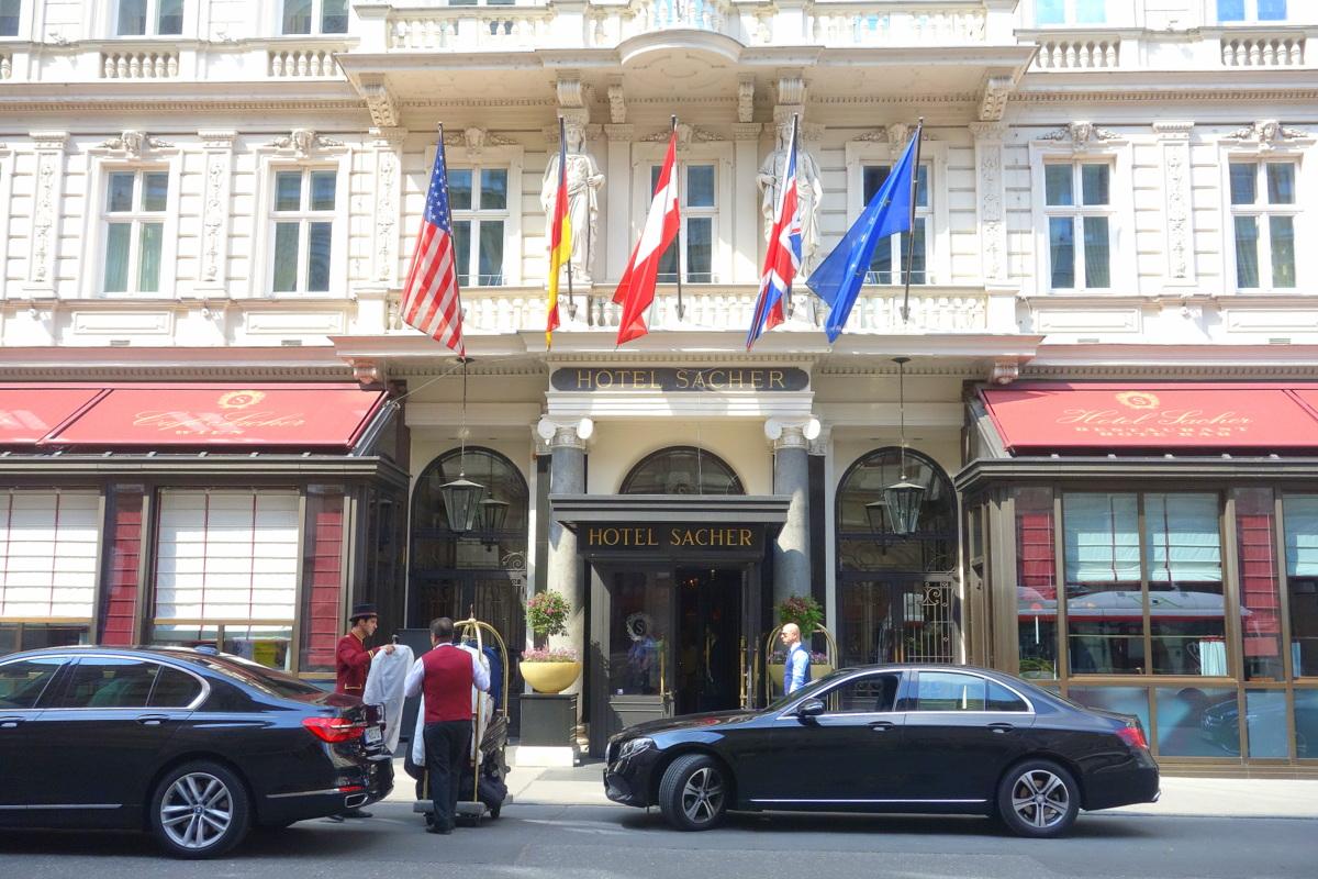 Hôtel Sacher - Vienne