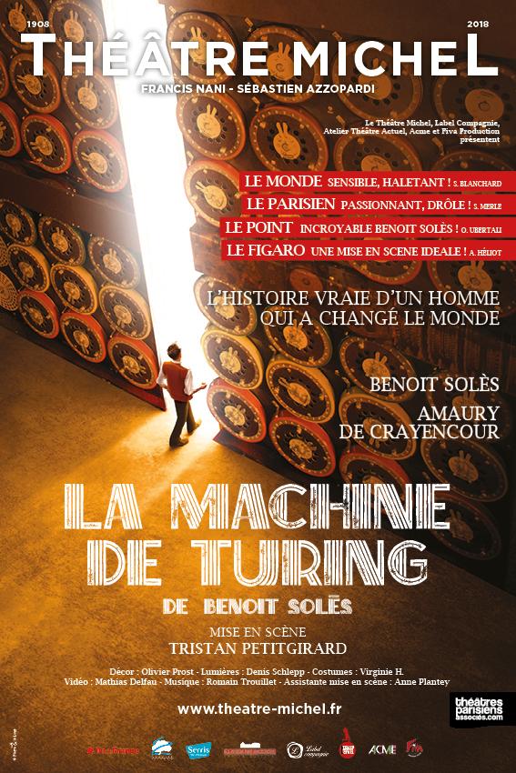 Affiche de la machine de Turing