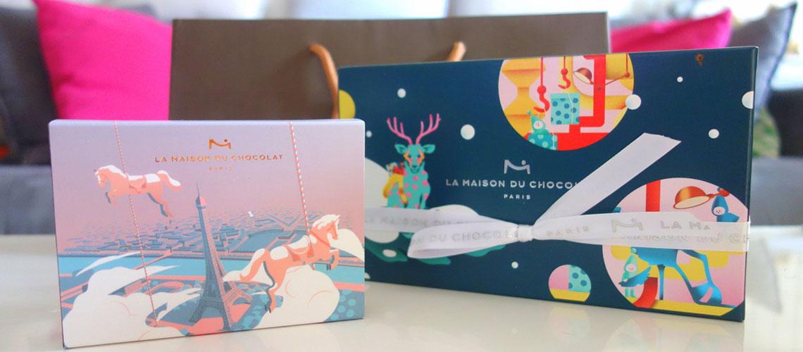 Maison du chocolat - Noël 2018 - Saint-Valentin 2019