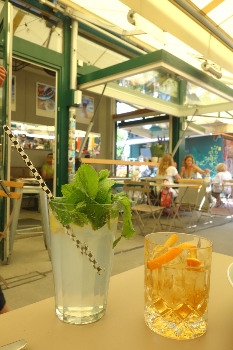 Neni am Naschmarkt - Bonne adresse de restau à Vienne