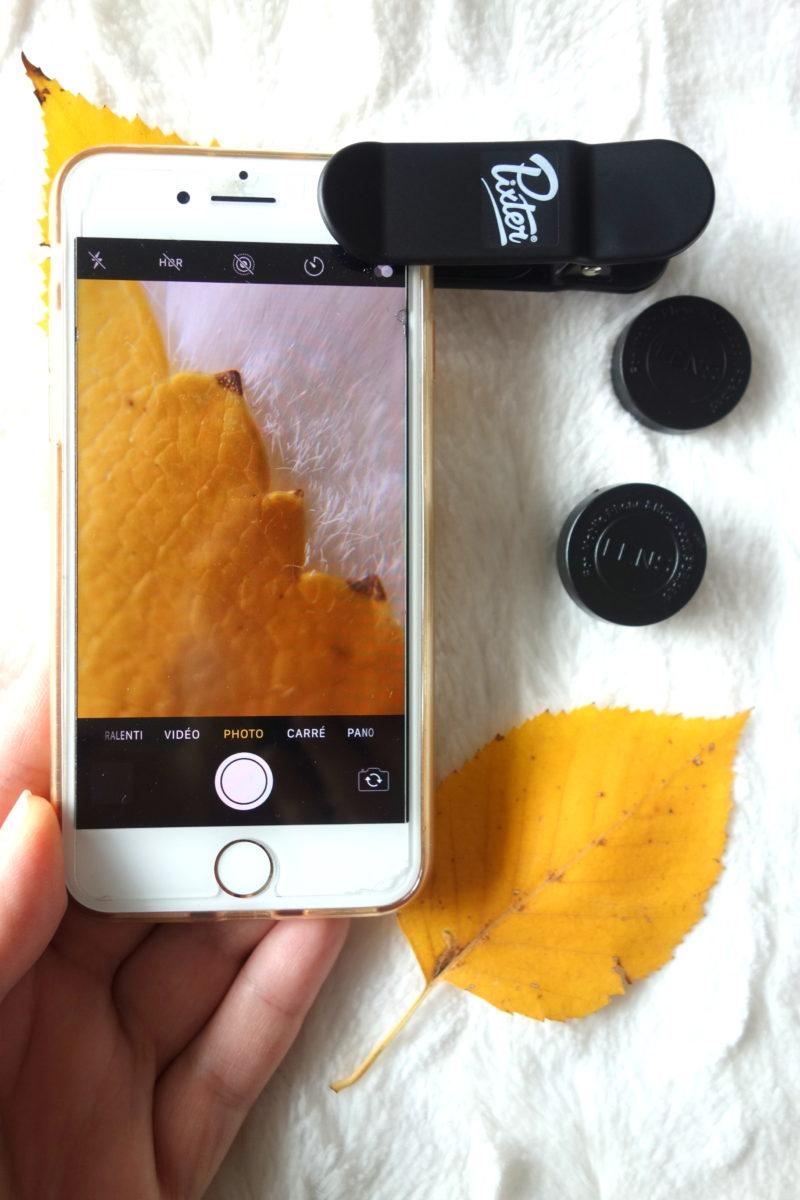 Test des objectifs photo Pixter pour smartphones