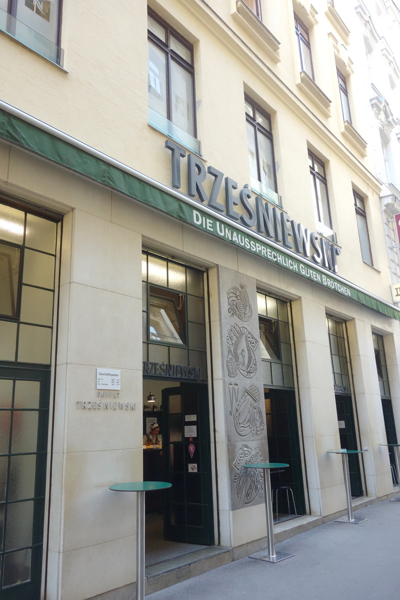 Trzesniewski - Bonne adresse de restau à Vienne