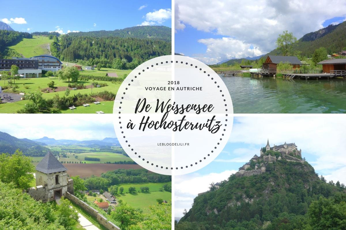 De Weissensee à Hochosterwitz