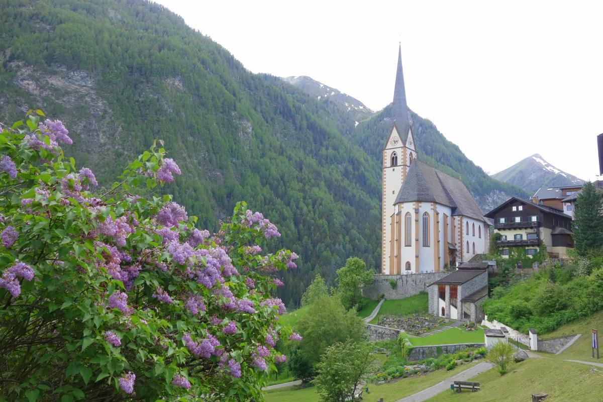 Église à la sortie de Grossglockner