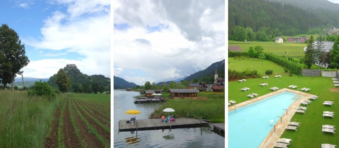 Visite du Sud de l'Autriche