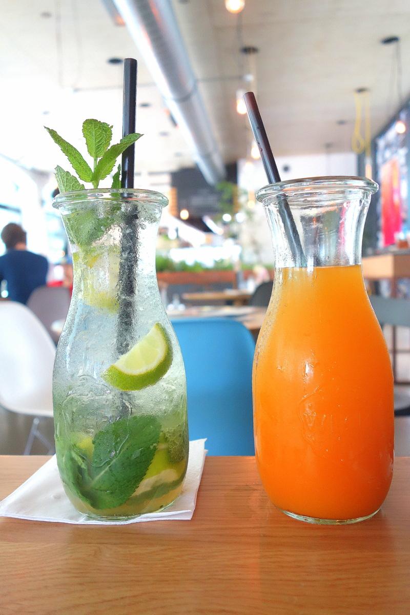 Voyage en Autriche - Brunch au Kunsthaus Cafe
