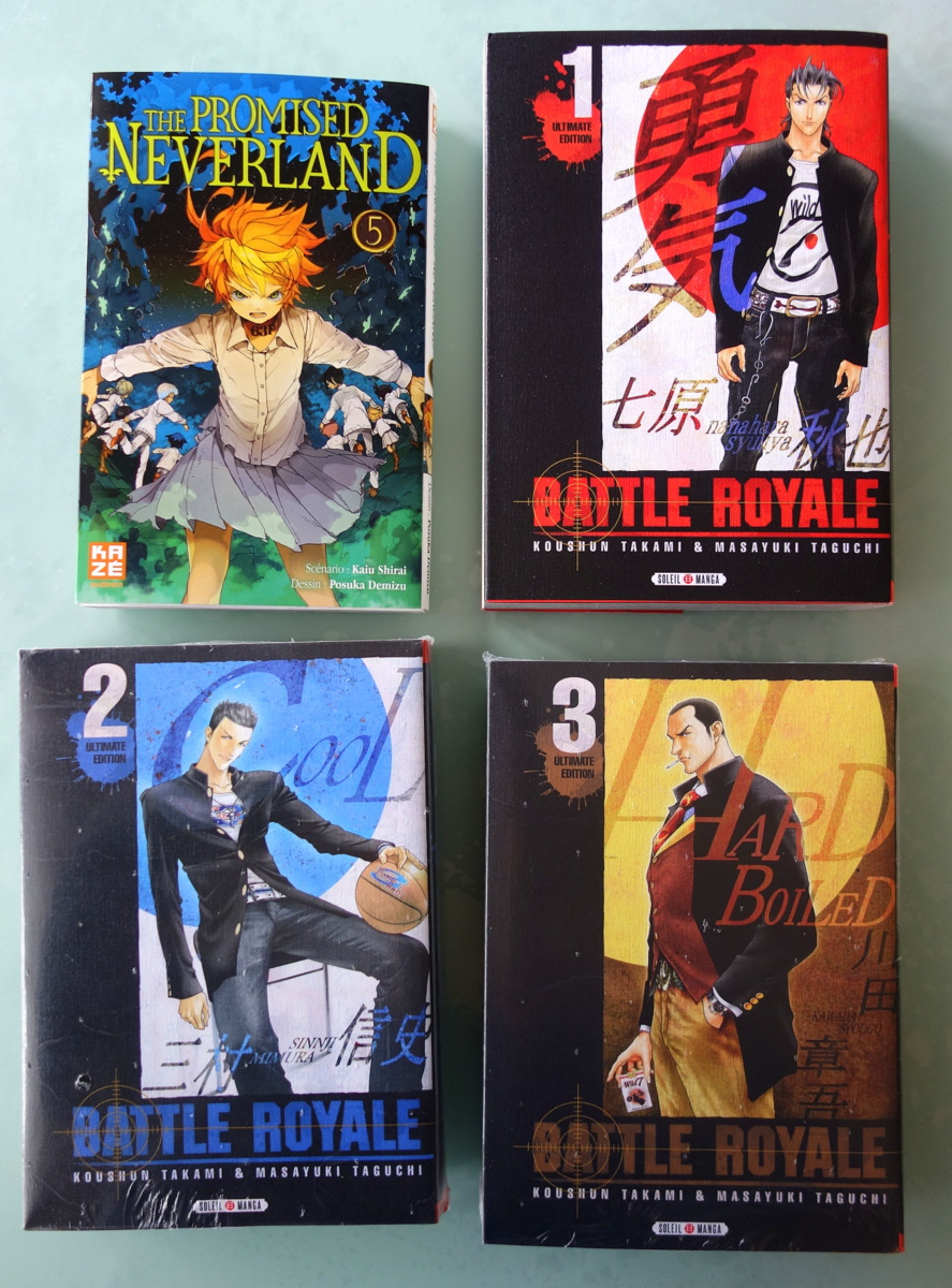 Mangas Battle royal