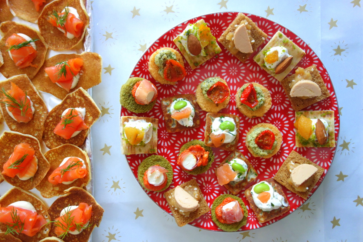 Repas de Noël 2018 - Toasts apéritifs Picard