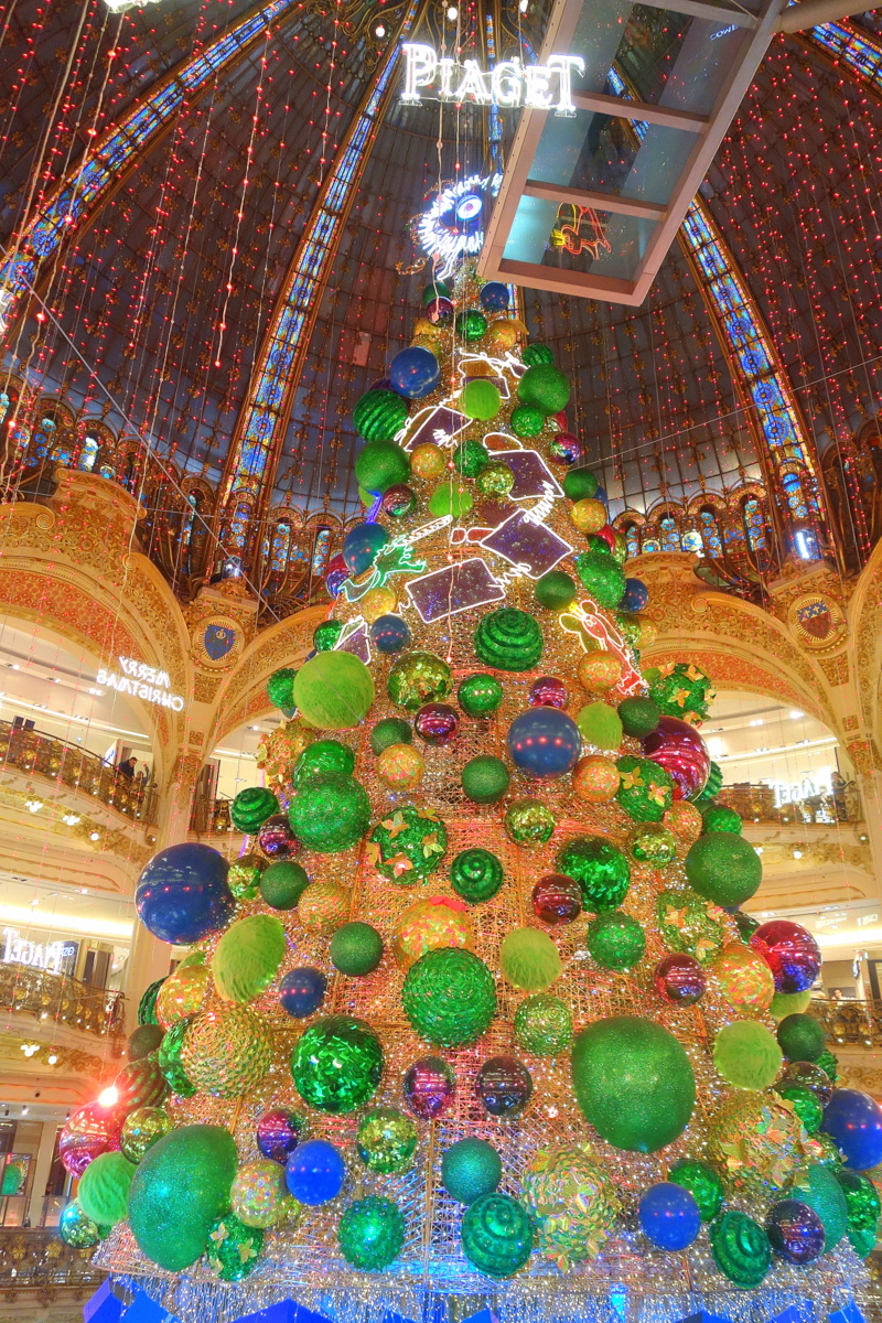 Noël 2018 - Sapin Piaget des galeries Lafayette