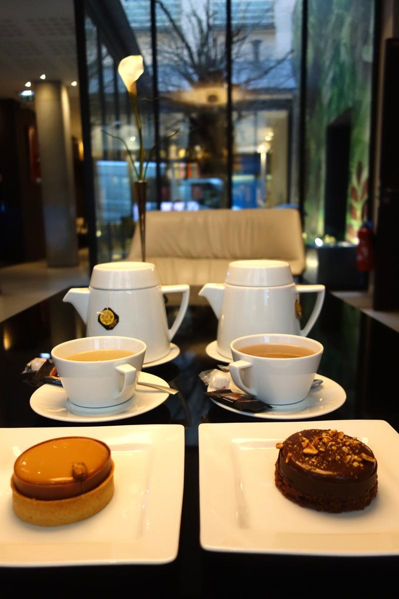 Afternoon tea à l'hôtel Duo de Paris