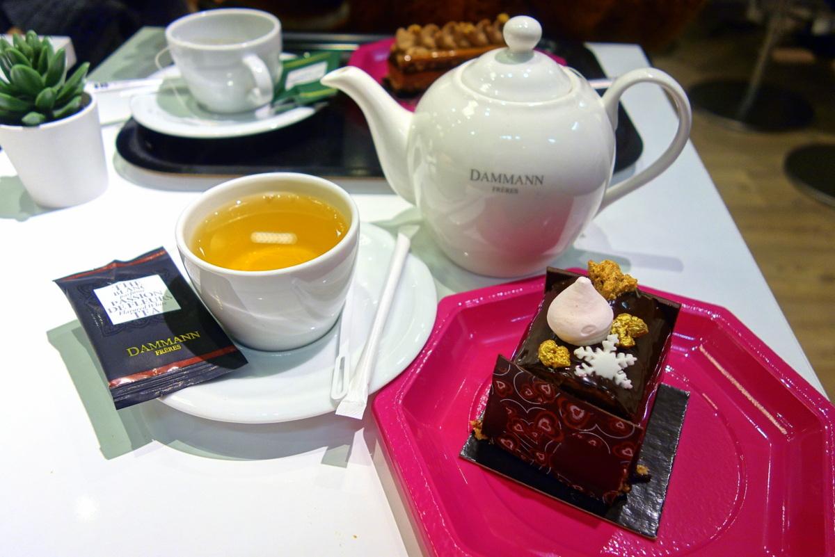 Salon de thé Bigot au Printemps Vélizy 2
