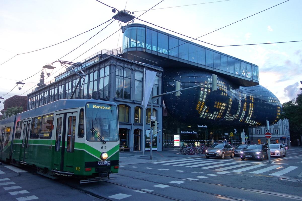 Voyage en Autriche - Graz - Kunsthaus