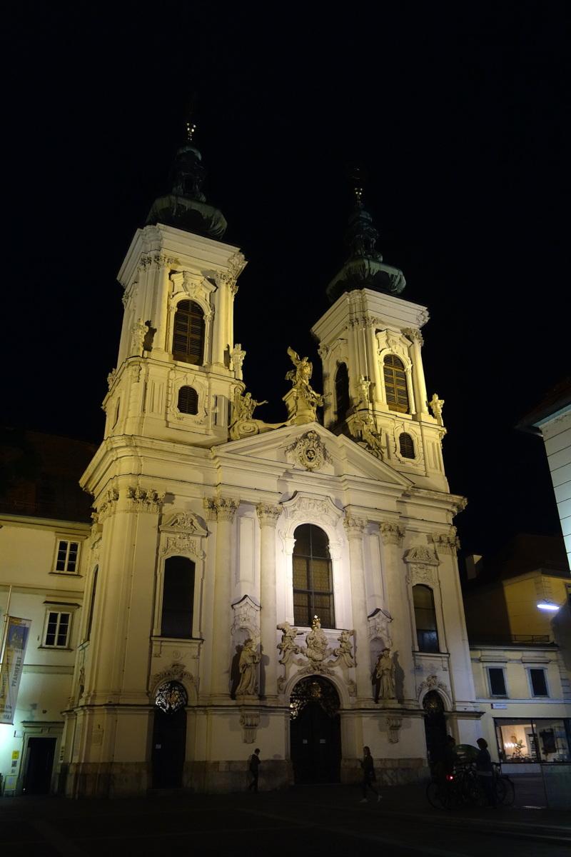Voyage en Autriche - Graz - Monuments religieux