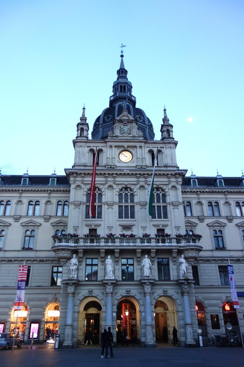 Voyage en Autriche - Graz - Mairie