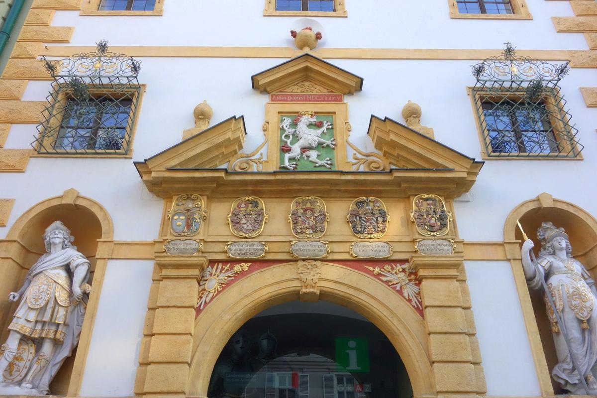 Voyage en Autriche - Musée à Graz - Landeszeughaus