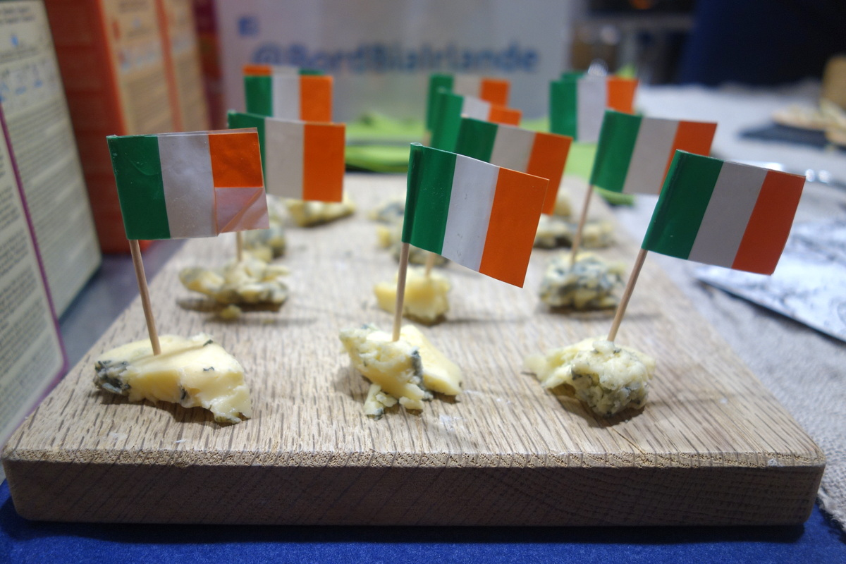 Food day open2Europe - Fromage irlandais