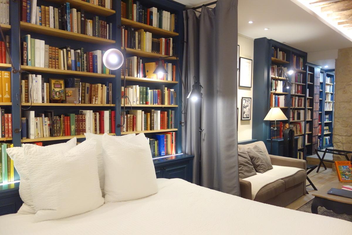 La Librairie - Paris boutik hotel - Le blog de Lili