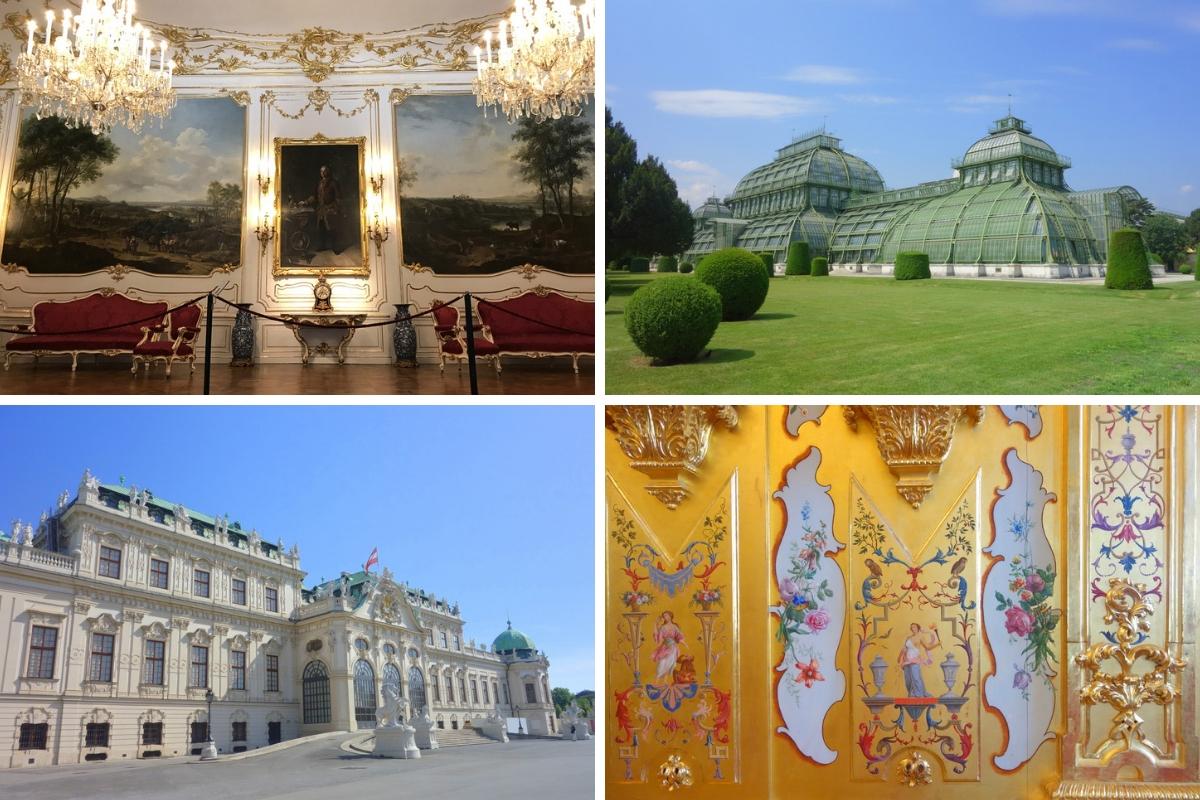 Vienne, Autriche - Les châteaux de Schönbrunn et du Belvédère