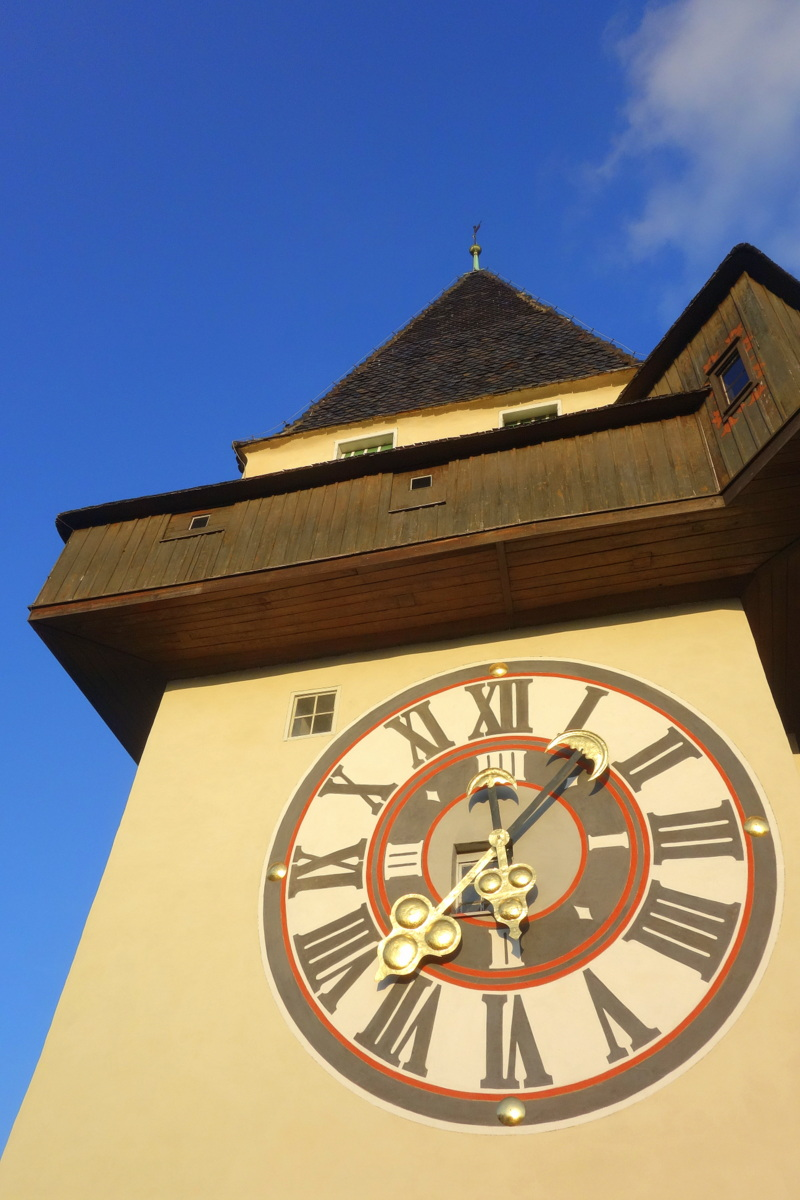 Voyage en Autriche - Musée à Graz - Tour de l'horloge