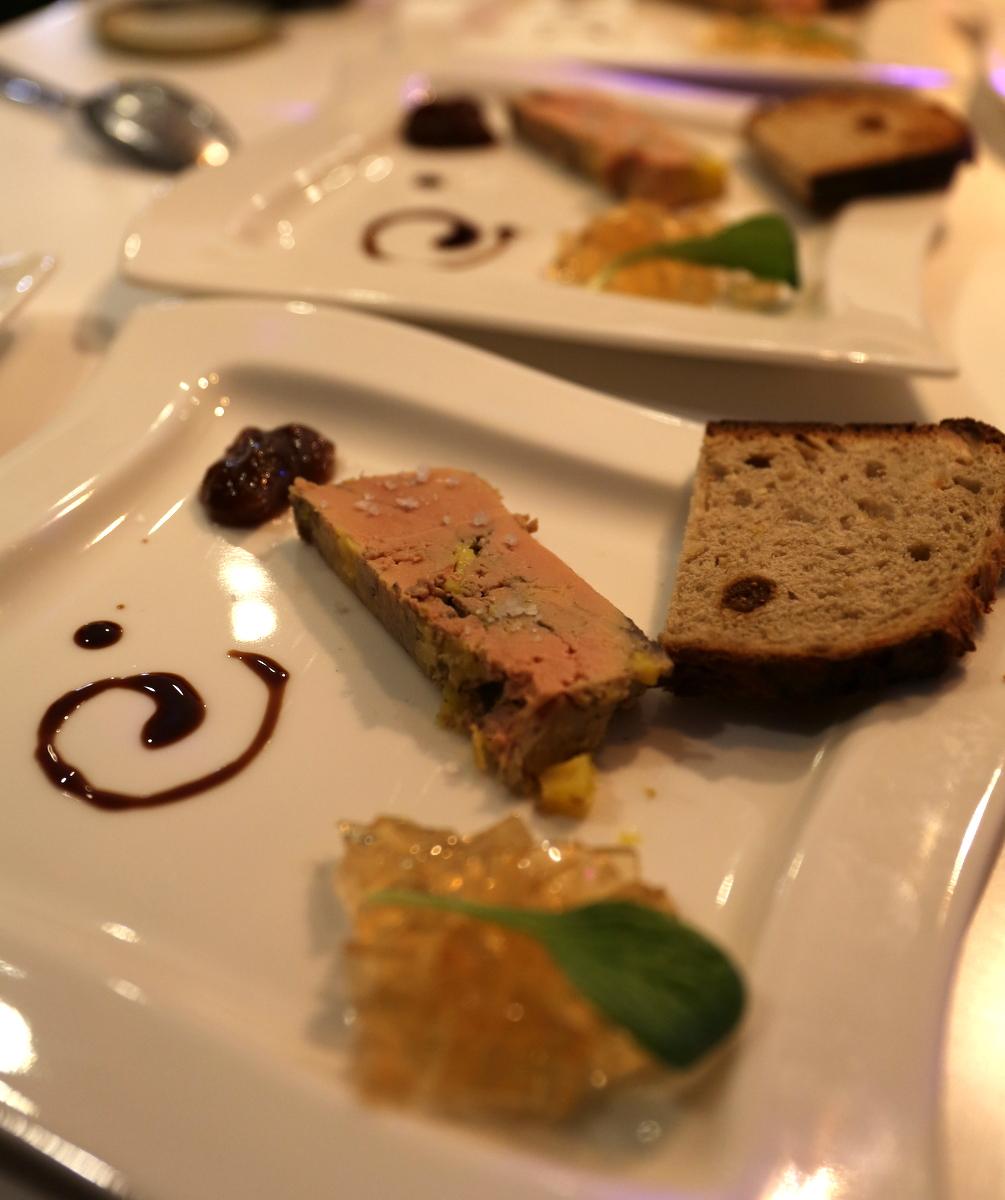Foie gras du nouvel an