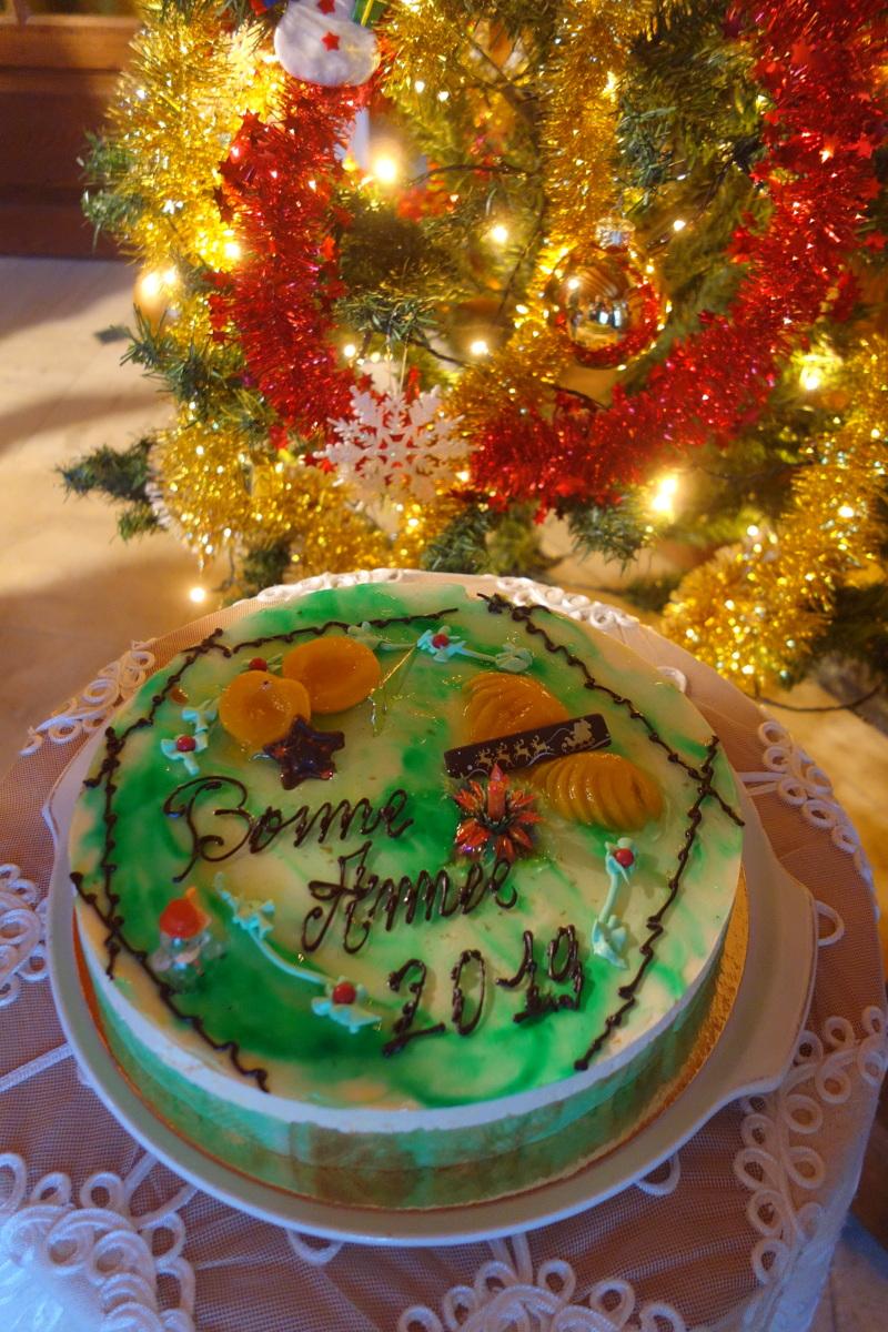 Gâteau de la pâtisserie de Clérey - Bonne année 2019