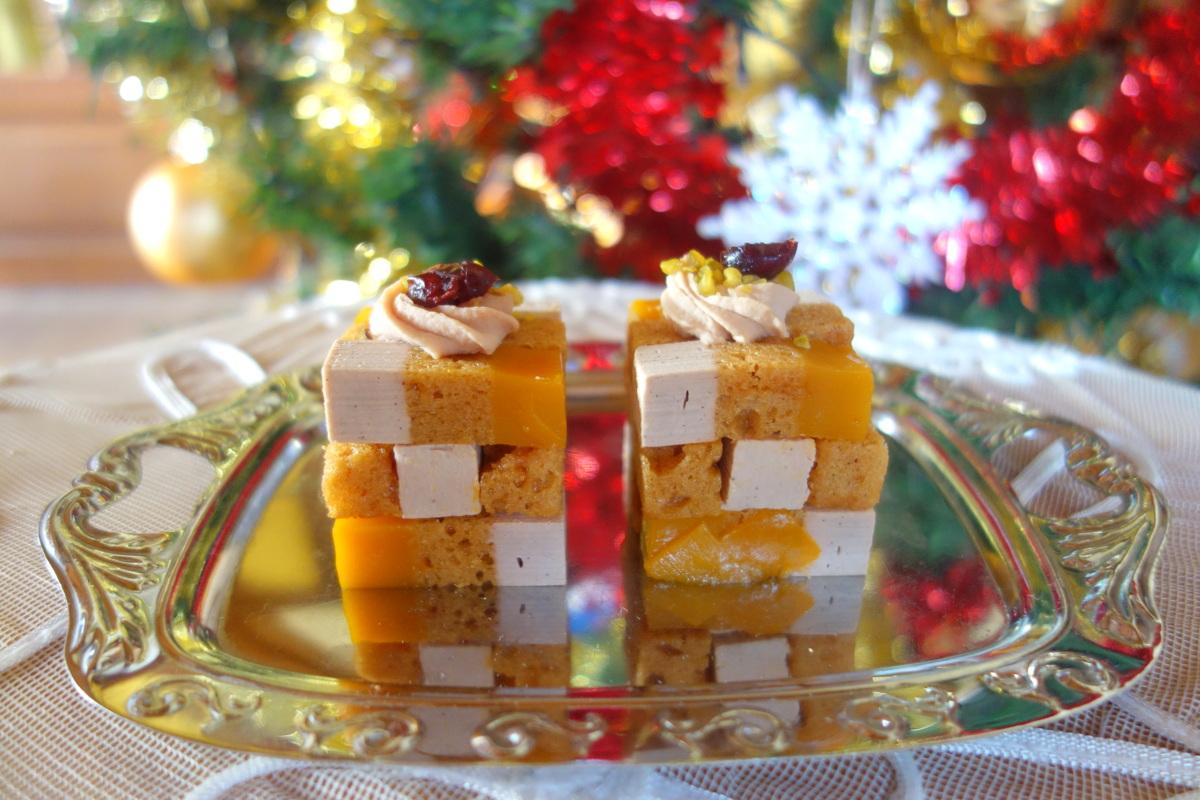 Cubes de foie gras - Noël 2018 de Picard