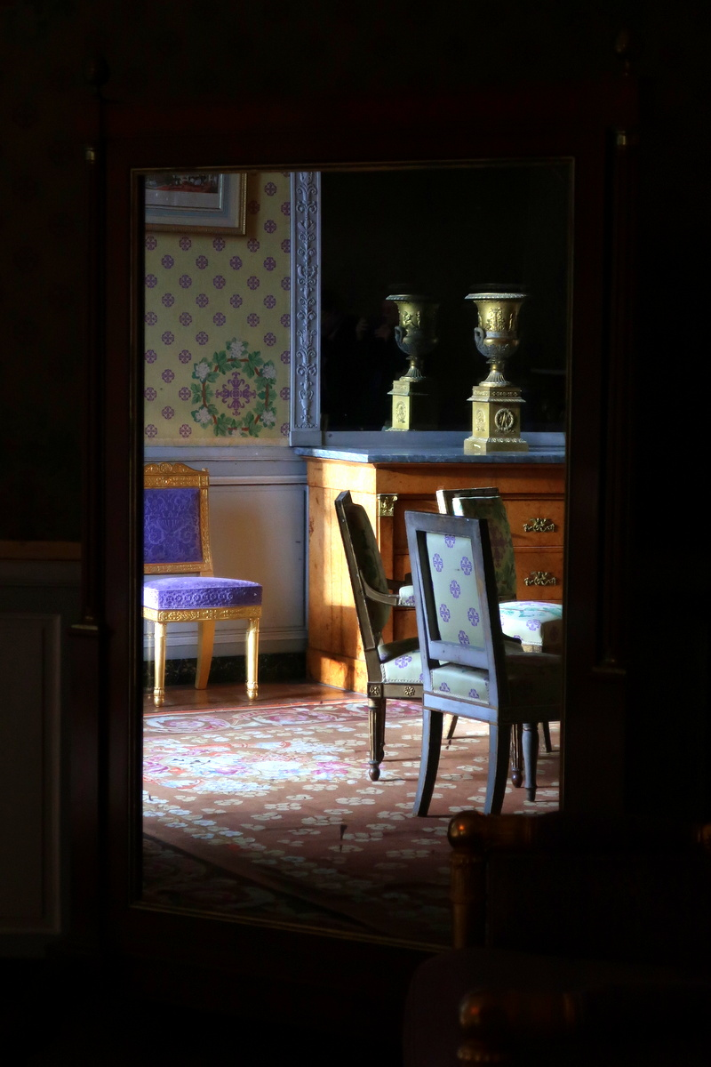 Château de Maisons - La chambre du maréchal Lannes