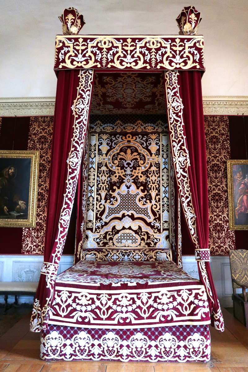 Château de Maisons - La chambre du Roi