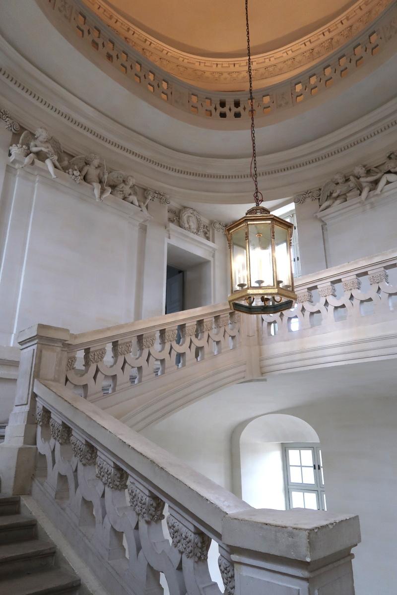 Château de Maisons - L'escalier