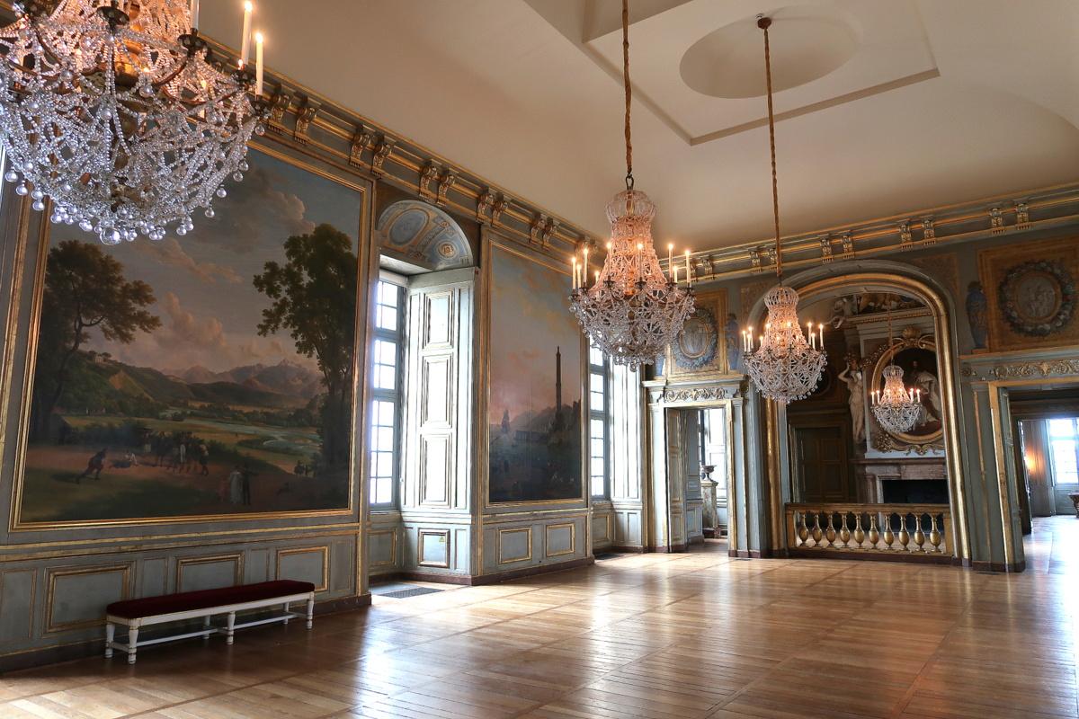 Château de Maisons - La grande salle