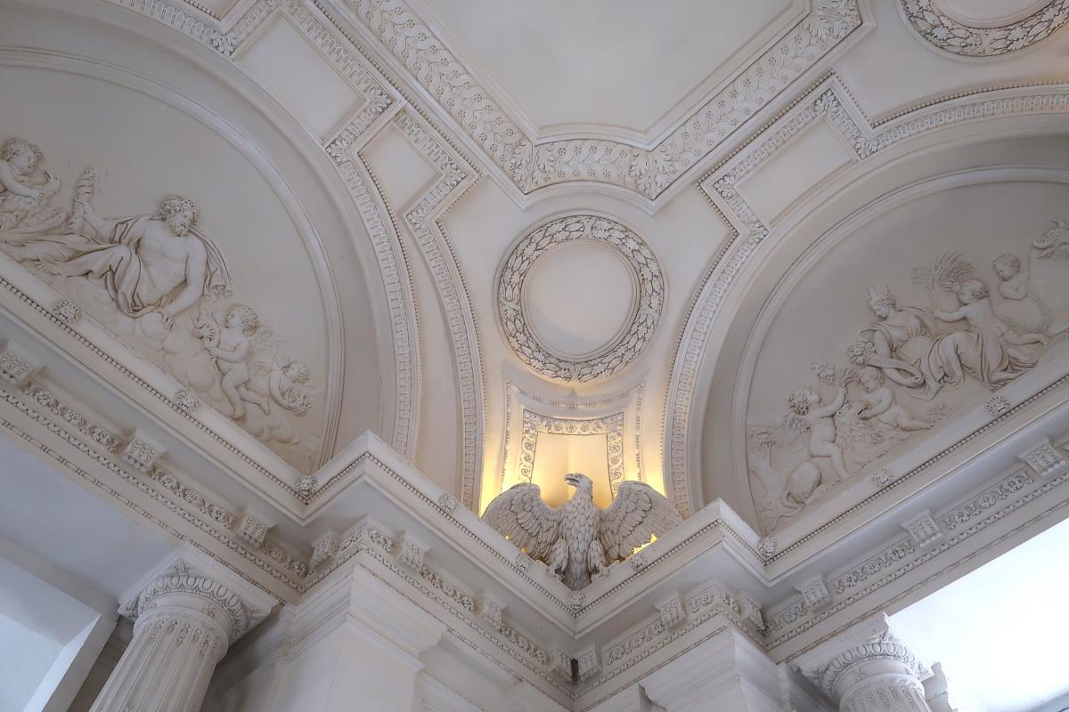 Château de Maisons - Le vestibule d'honneur