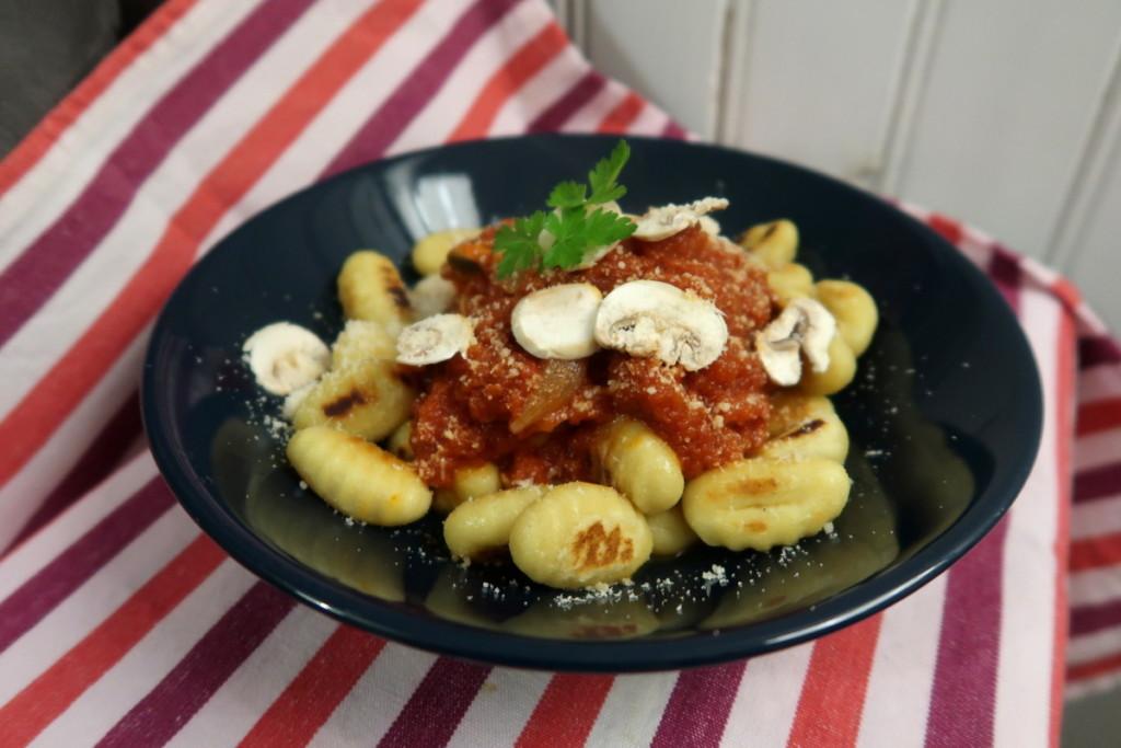 Food day - Purée de tomates et gnocchis