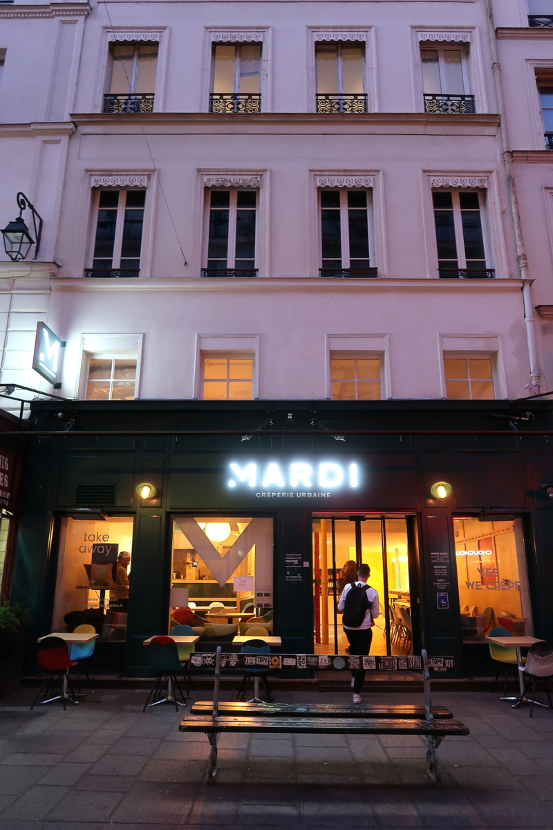 Mardi crêperie urbaine - Beaubourg, Paris