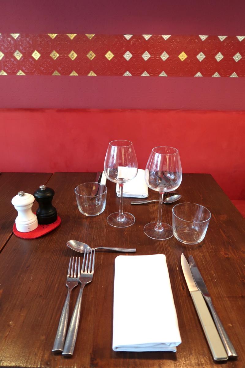 Restaurant L'Escient Paris XVIIe