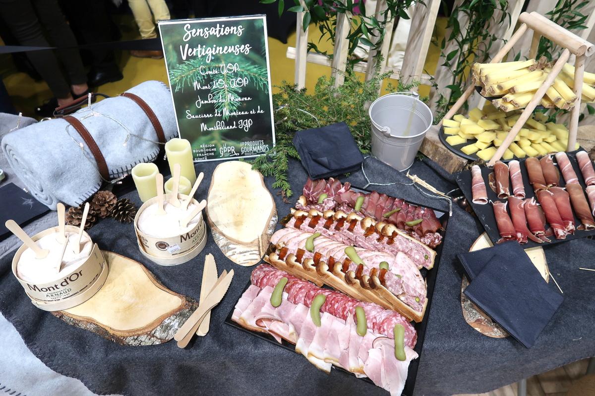 Salon international de l'agriculture 2019 - Produits de Bourgogne-Franche-Comté