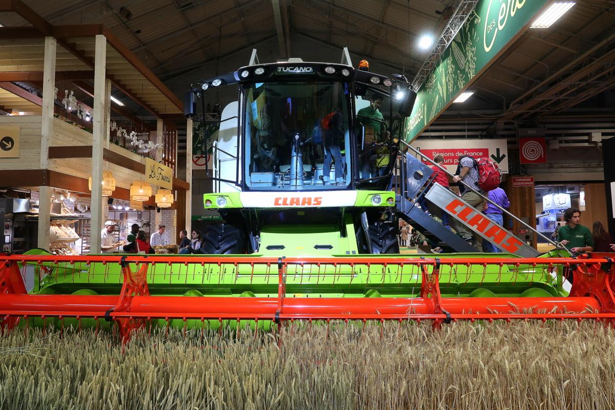Salon international de l'agriculture 2019 - Tracteur