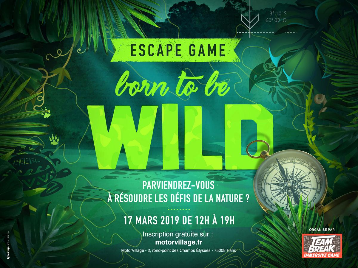 Born to be wild - Escape game événementiel du Motor village Jeep - Team break