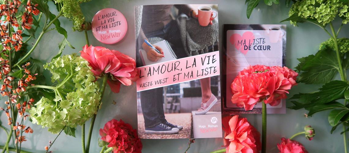 L'amour, ma vie et ma liste, de Kasie West