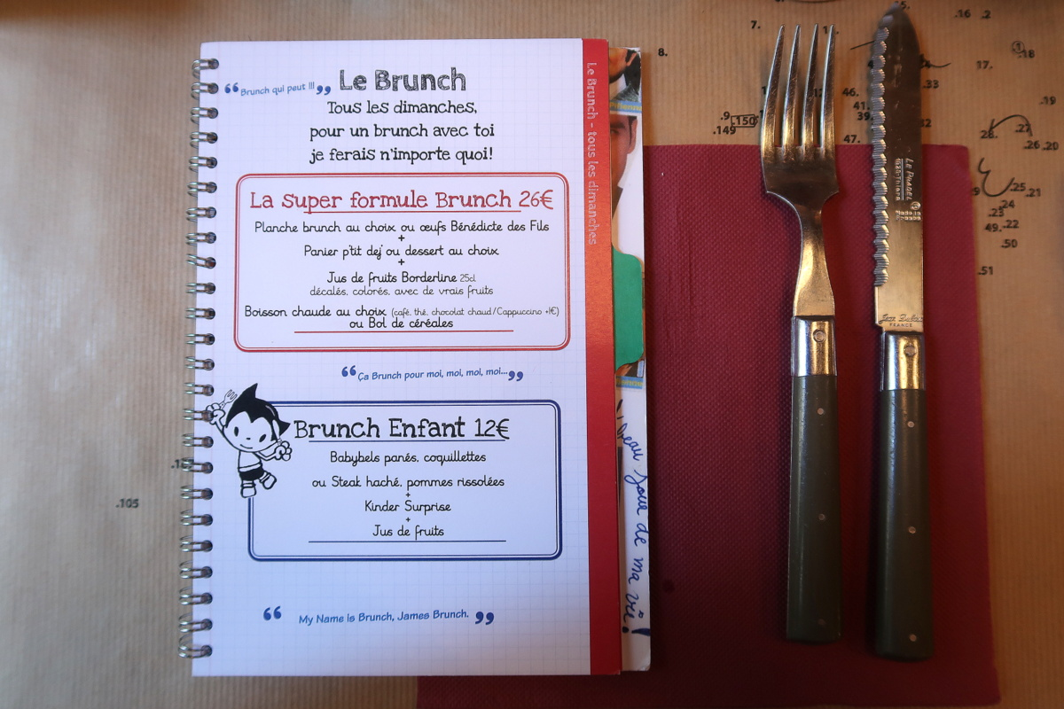 Brunch les fils à maman Grands boulevards