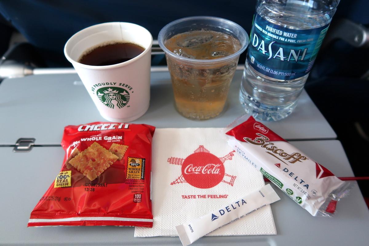 Vol avec Delta airlines - Le blog de Lili
