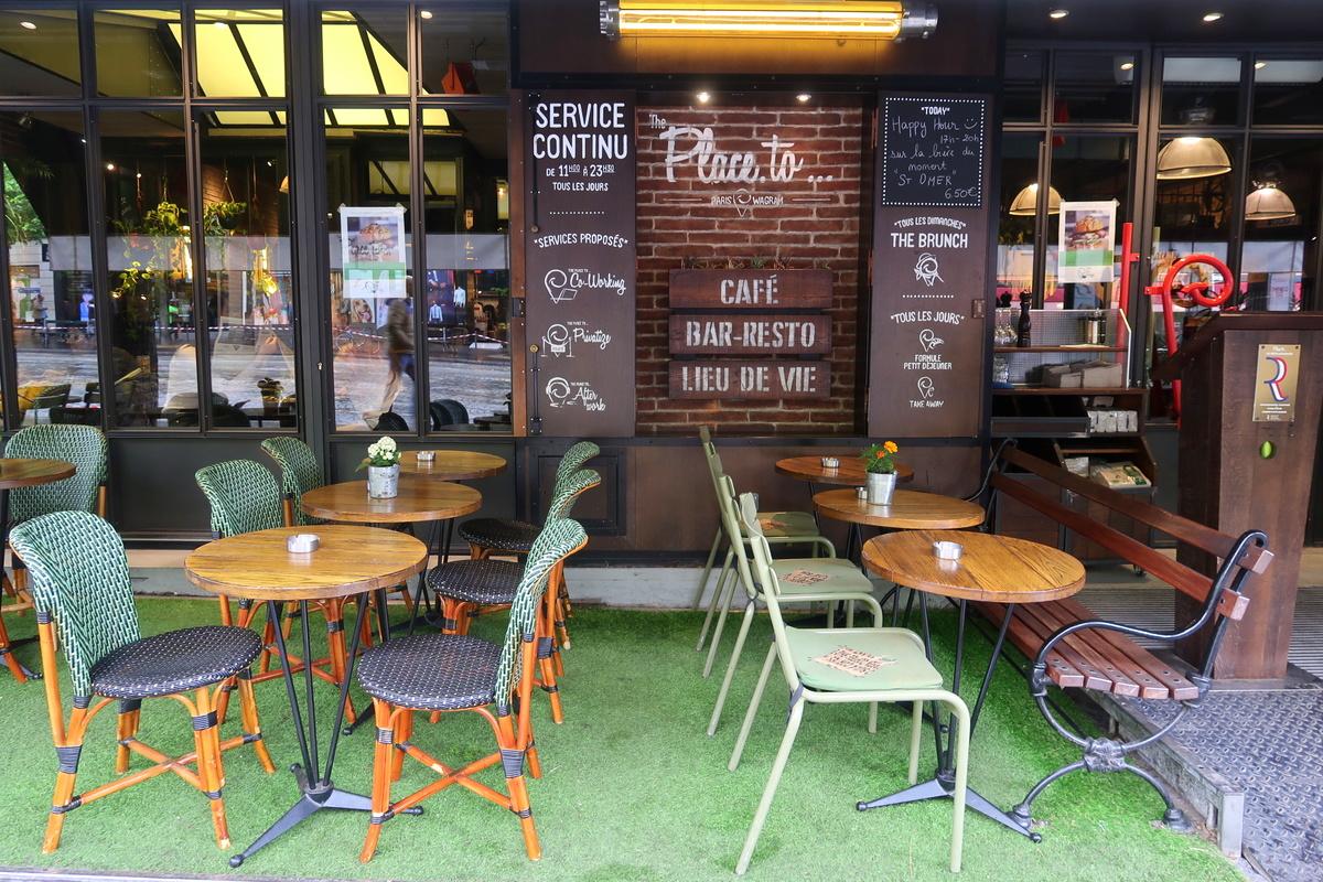 The place to, restaurant Paris 17e