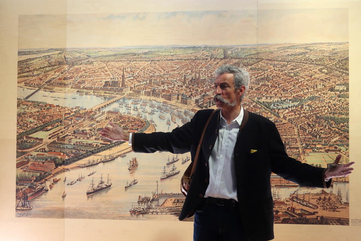 Visite de Bordeaux avec Bruno, guide
