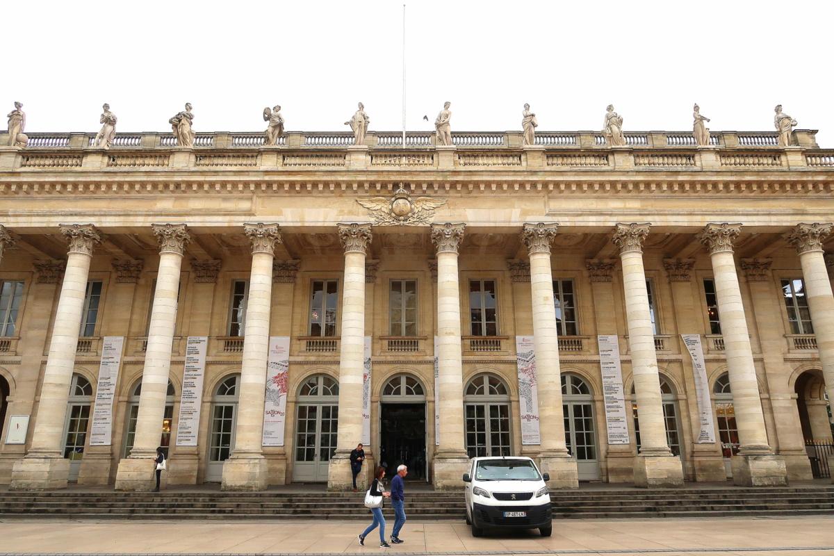 Visite de Bordeaux - L'opéra national
