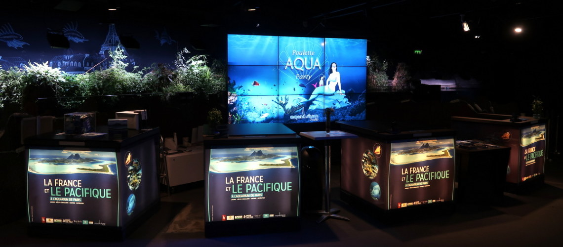 Poulette Aqua Party - Aquarium de Paris - Soirée beauté